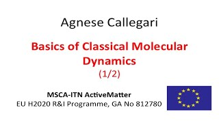 Basics of Classical Molecular Dynamics - 1/2 - Agnese Callegari - MSCA-ITN ActiveMatter screenshot 5