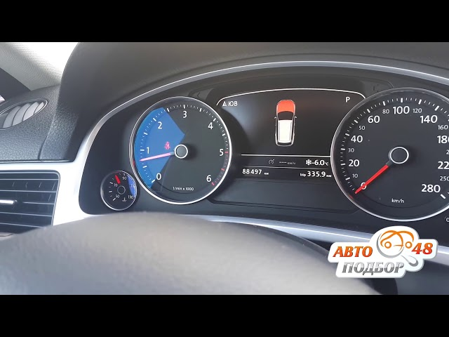VW Touareg 2010. Скрученный пробег. Проверка LAUN