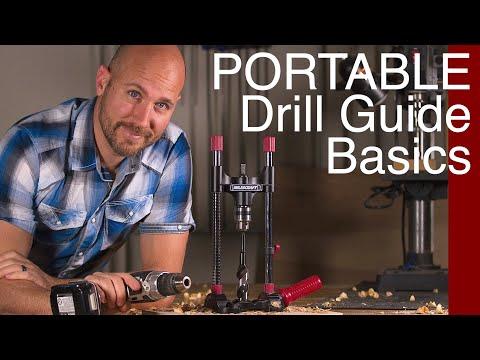 Don't Have a Drill Press | Use a Portable Drill Guide