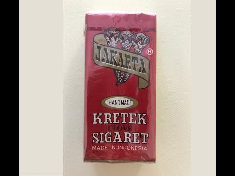 Jakarta Handmade Kretek Clove Sigaret (Cigarette) Review