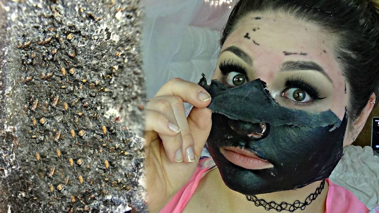 Diy Charcoal Blackhead Peel Off Mask Actually Works