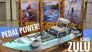 Kaku Zulu -  Paddle, Pedal, Trolling Motor, Or Outboard