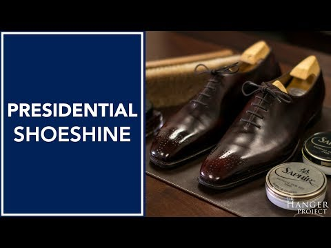 Presidential Shoe Shine | How to Shine Shoes