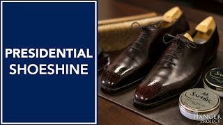 Presidential Shoe Shine: Saphir's Most Comprehensive Shoe Care Routine