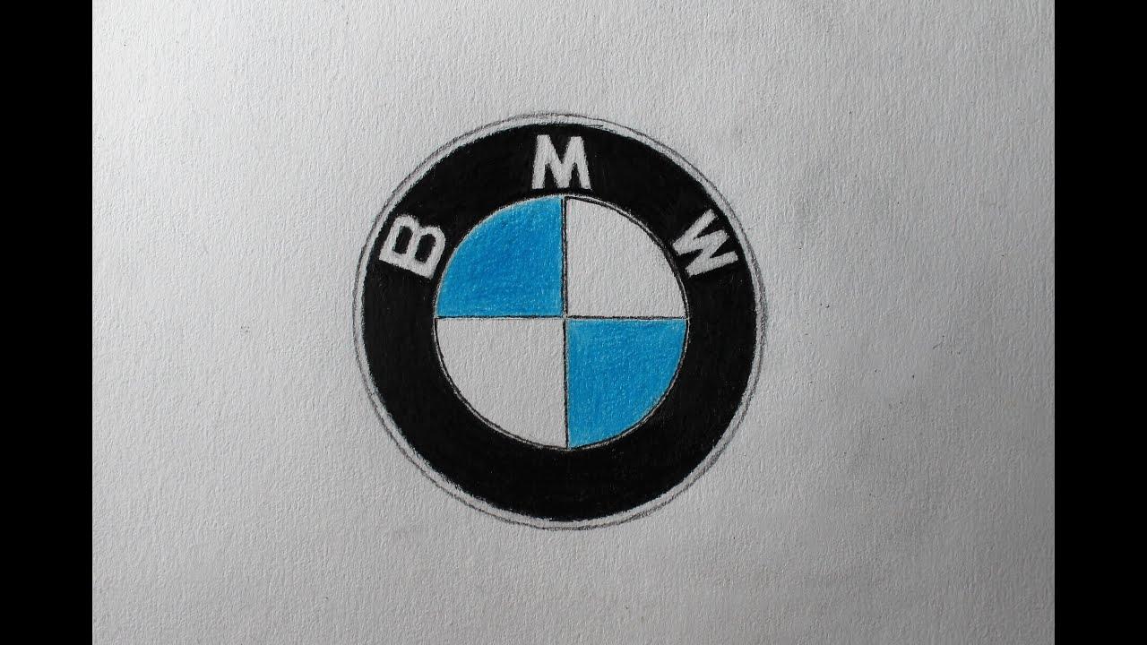 Como Desenhar O Logo Da Bmw Youtube