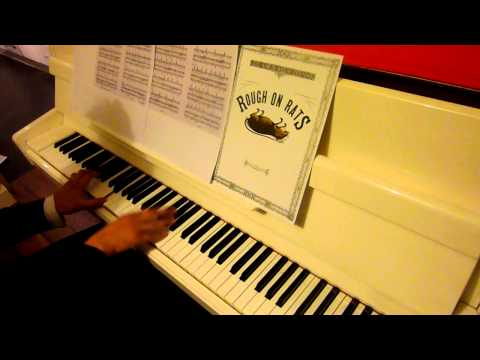 Beck: Song Reader - Rough On Rats for solo piano