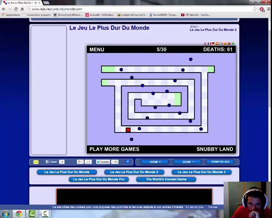 Kevin et les jeux vidéo : présentation + Un jeux qui rend fou !!