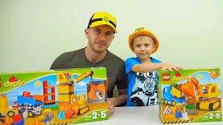 МАШИНКИ И ГРУЗОВИЧКИ | Детское видео про МАШИНКИ Lego и CAT | Машинки для мальчиков