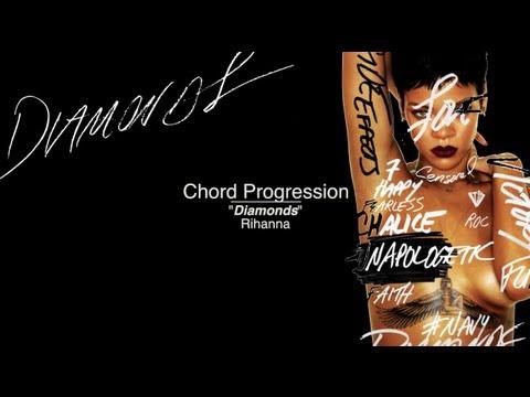 Rihanna Diamonds Chords Youtube