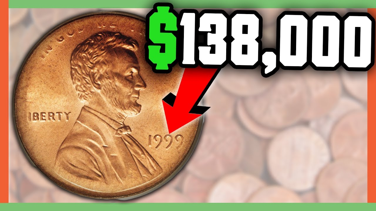 $138,000 RARE PENNY COINS TO LOOK FOR - RARE ERROR PENNIES WORTH MONEY!!