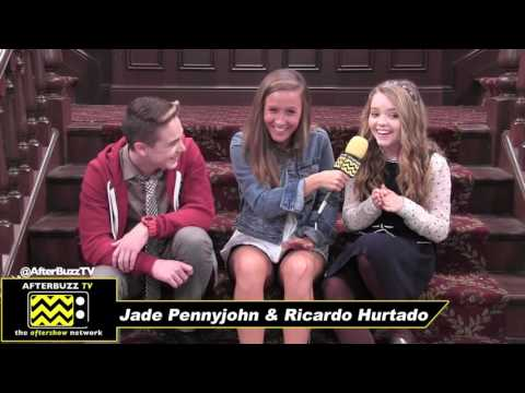 "Nickelodeon's ""School of Rock"" Ricardo Hurtado & Jade Pettyjohn"
