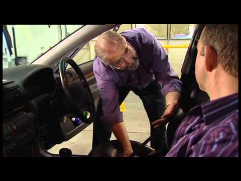 MOT test inspection routine