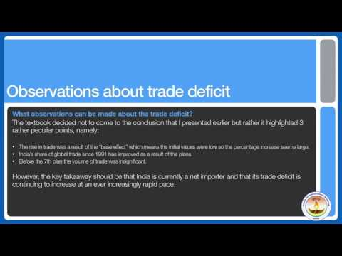 CBSE Economics - Grade 11 - Chapter 5 Lesson 1 - Foreign Trade
