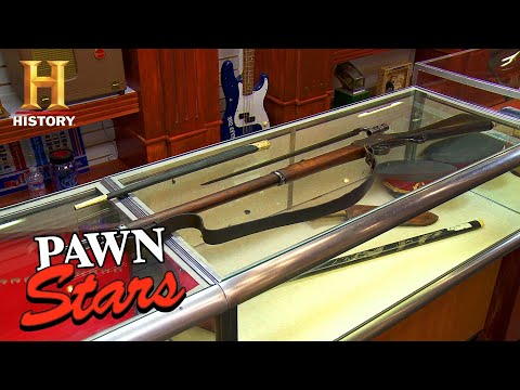 Pawn Stars: TOUGH NEGOTIATION For Iconic Rifle (Season 13) | History
