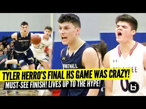TYLER HERRO's Final High School Game Lived Up To The HYPE! Full Highlights!