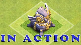 Clash Of Clans - New Eagle Artillery In Action For The First Time