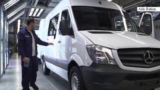 Так Собирают Ваш Mercedes Sprinter.Assembling Your Car Mercedes Sprinter