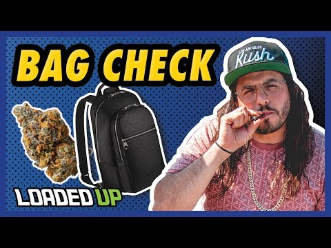 Adam ill Shows Us What's In His Bag | Loaded Up
