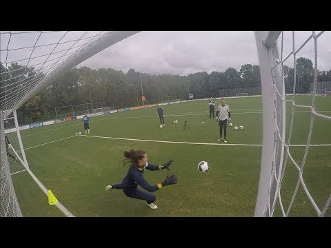 2017-07-11 Being a goalkeeper gives you quite a unique perspective on things.