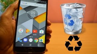 RECYCLE BIN on your ANDROID