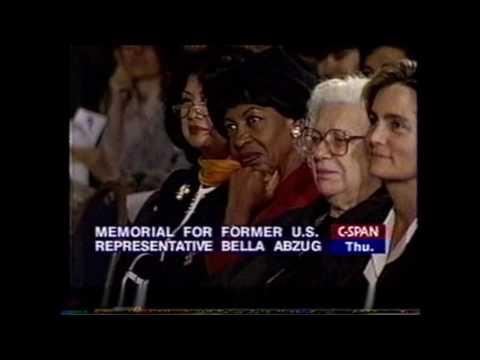 Hillary Clinton Honors Bella Abzug