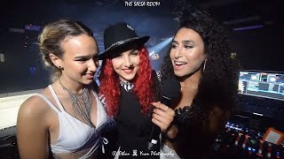 MAGDA & VALERIA Interviewed By NOELIA & Bachata Dance Performance At THE SALSA ROOM