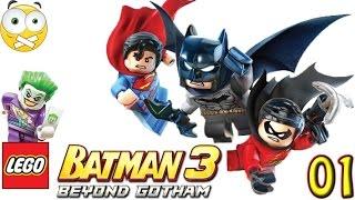 LEGO Batman 3 Beyond Gotham PC Gameplay Parte 1 - Sem Comentários (No Commentary) Dublado PT-BR