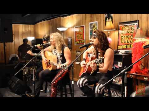 102.9 The Buzz Acoustic Session: Steel Panther - Girl From Oklahoma