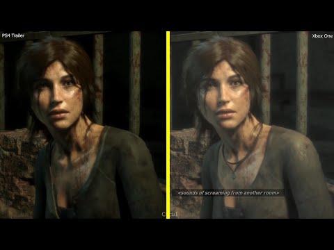 Сравнение графики в Rise of the Tomb Raider на Xbox One и Playstation 4