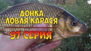 Серия 97. Донка. Ловля карася. Рыбалка с Нормундом Грабовскисом.