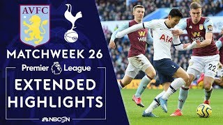 ** Watch Online ** Aston Villa v. Tottenham PREMIER LEAGUE HIGHLIGHTS 2162020 NBC Sports