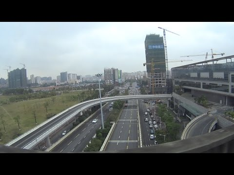 travel in shenzhen - North station to Red Hill - guangdong china