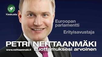 Petri Neittaanmäki eduskuntaan