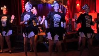 NOLA Chorus Girls Perform Oriental Strut at Allways Lounge June 21st 2015