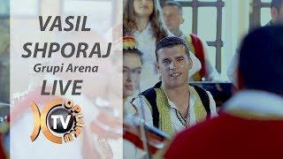Vasil Shporaj (Grupi Arena )- Kolazh Live 15 min (Official Video 4K)