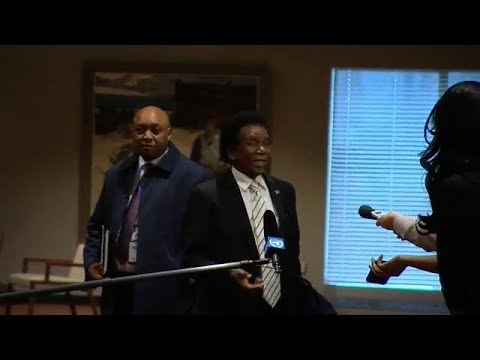 South Africa on elections in DR Congo - Security Council Media Stakeout (4 January 2019)