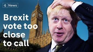 Boris Johnson facing crunch vote on Brexit deal on Super Saturday