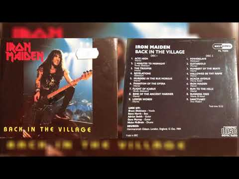 8. Iron Maiden - Rime Of The Ancient Mariner (Back In The Village Disk 1)