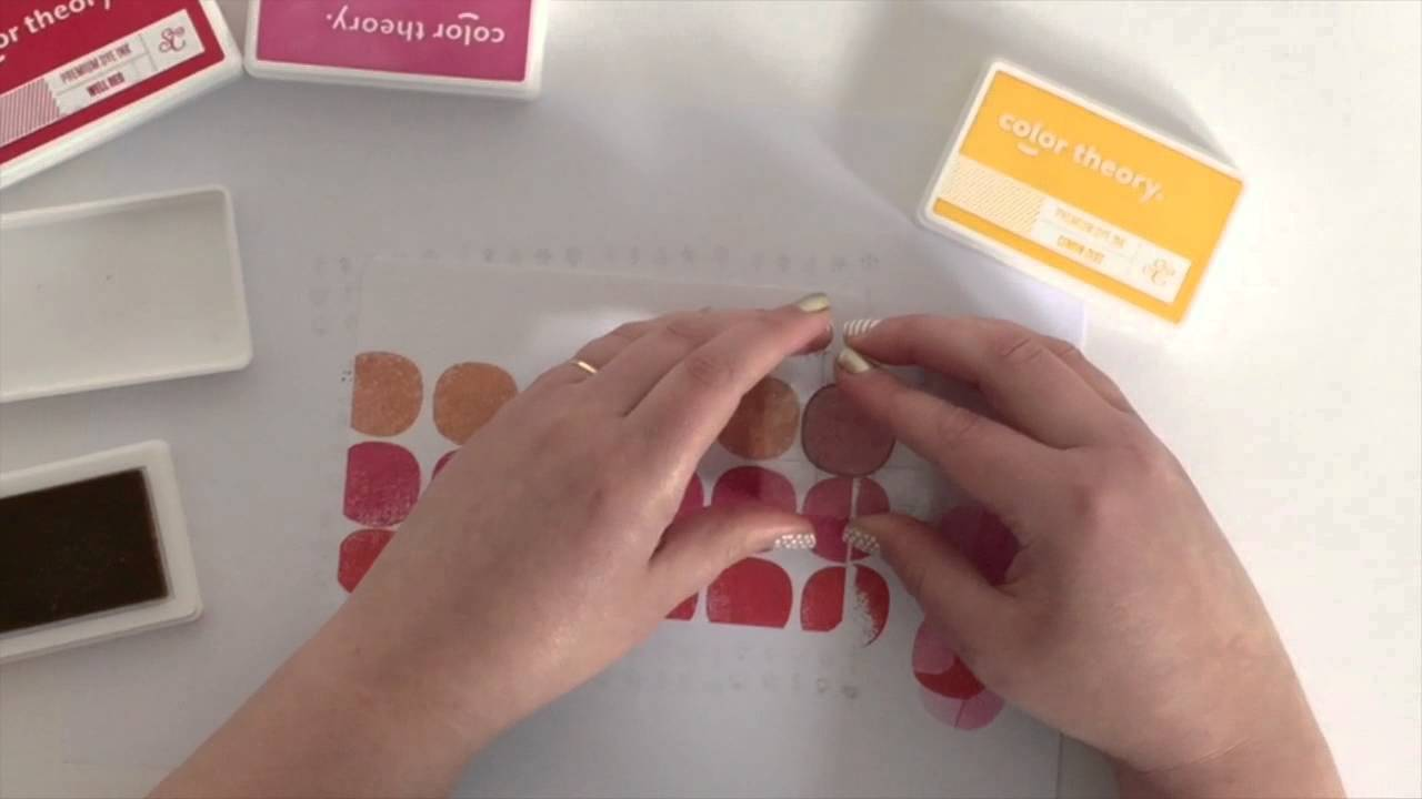 Four ways to hand-stamp Project Life Journal CardsYouTube