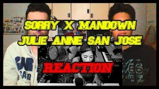 Julie Anne San Jose Sorry x Mandown REACTION