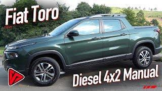 Fiat Toro Diesel 4x2 Manual   Canal Top Speed