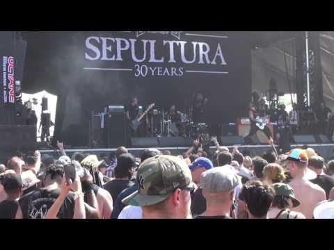 04 - Sepultura - War For Territory Live @ Amnesia Rockfest Canada 2016