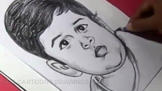 How to Draw Film Actor SURYA DAUGHTER Drawing
