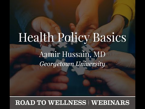 VF Webinar:  Health Policy Basics