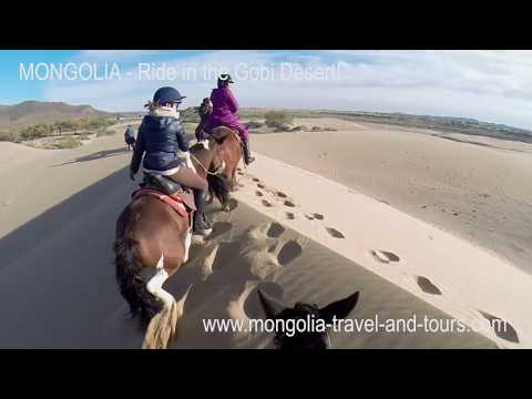 MONGOLIA HORSE TRAIL - Gallop in the Gobi Desert - By Mongolia Travel & Tours