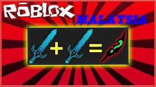 Crafting All Recipe In One Video ! ~ Roblox Assassin - (Roblox Malaysia)