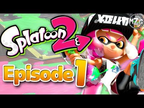 Squid Kids Return! - Splatoon 2 Story Mode - Episode 1 (Tentakeel Outpost)