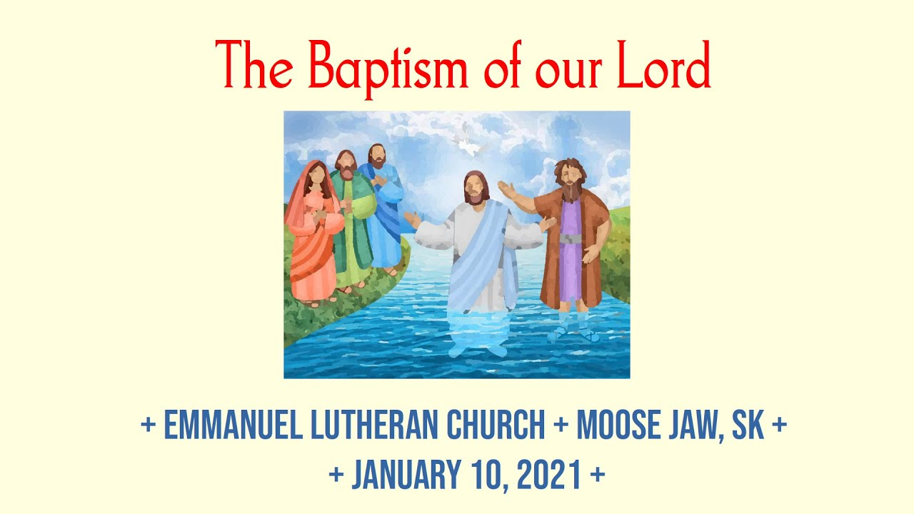2020-01-10 The Baptism of our Lord