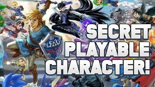 A HUGE SPOILER for Super Smash Ultimate with a SECRET Playable CHARACTER! (MAJOR SPOILER)
