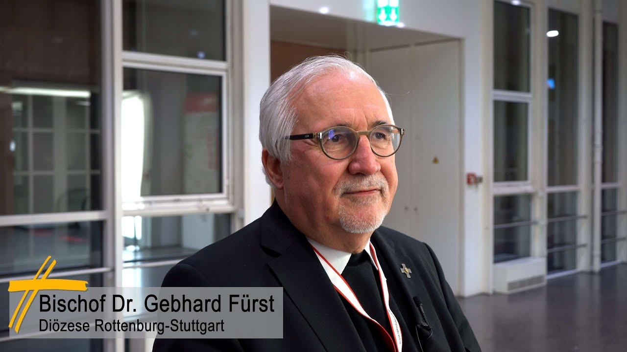 Zweite Synodalversammlung Statement Bischof Fürst